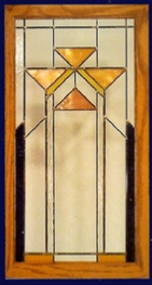 contemporary stained glass yellow