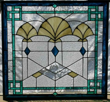 Art Deco Fans & Art Deco u0026 Nouveau Stained Glass Windows