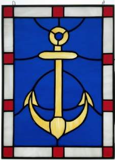 nautical anchor window