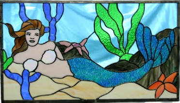 mermaid panel