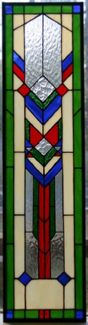 Stained glass window - Southwest Style #7