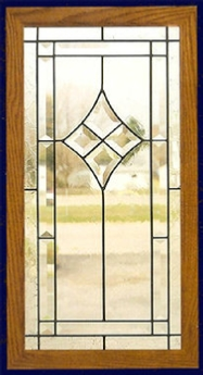 traditional 14 cabinet glass insert