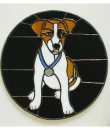 beagle dog window